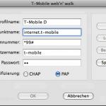 Profil bearbeiten im Mac Web´n Walk Manager