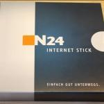 Vorderseite Verpackung N24 Stick