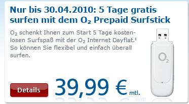 o2 online Prepaid Stick