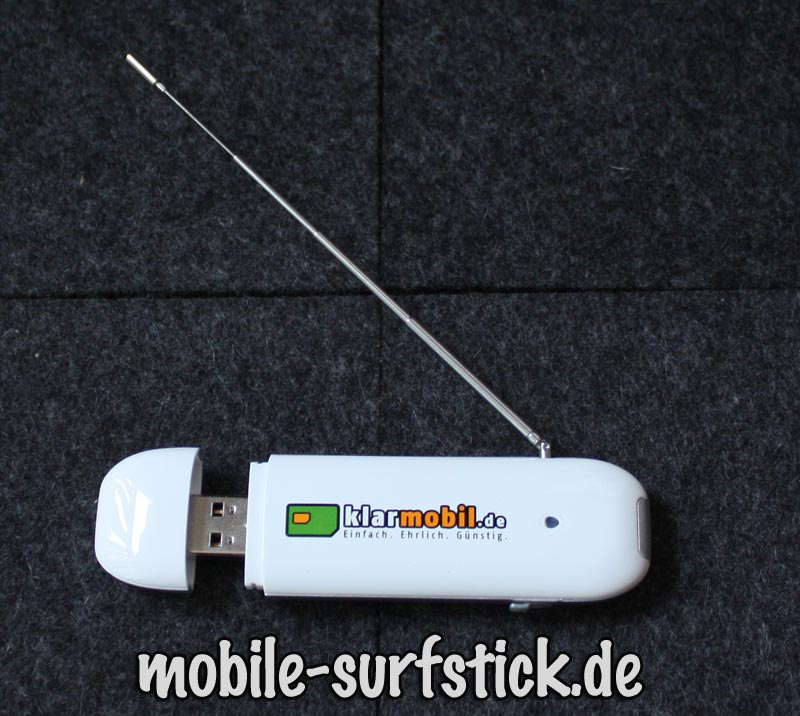 ausgezogener DVB-T Stick Klarmobil.de