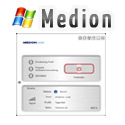Post thumbnail of Medion S4012 Surfstick Screenshots der Software unter Windows