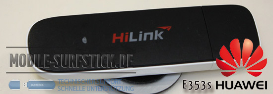 Post image of Cebit 2011 Huawei HSPA+ Surfstick E353s neue Bilder