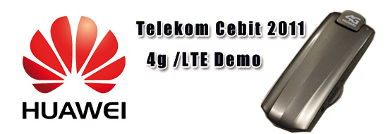 Post image of Cebit 2011 4G /LTE live! auf dem Telekom Messestand