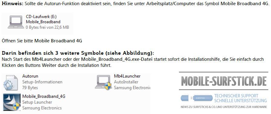 Installationshinweise des Samsung GT-B3730